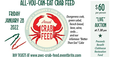 2022 PWC All You Can Eat Crab Feed tickets