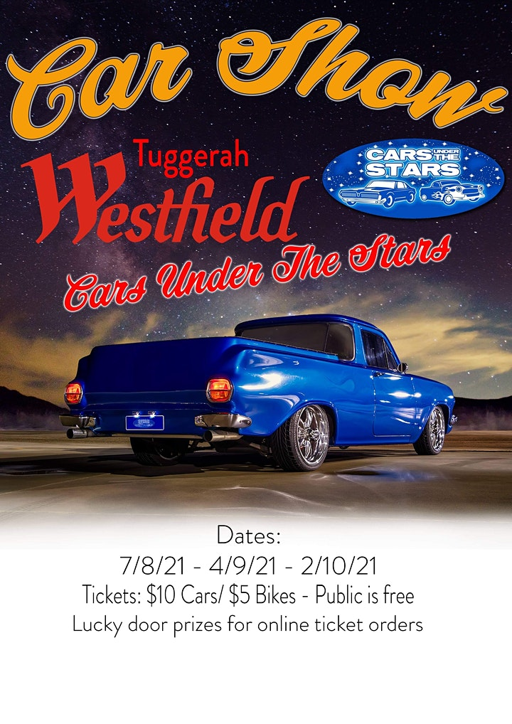 CARS UNDER THE STARS @ Westfields Tuggerah image