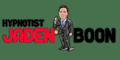 Jaden Boon's Comedy Hypnosis Show tickets