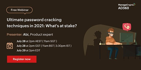 Password cracking techniques in 2021: How to protect against them? tickets
