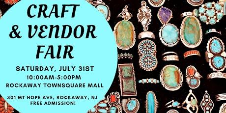 Craft & Vendor Fair at Rockaway Townsquare Mall tickets