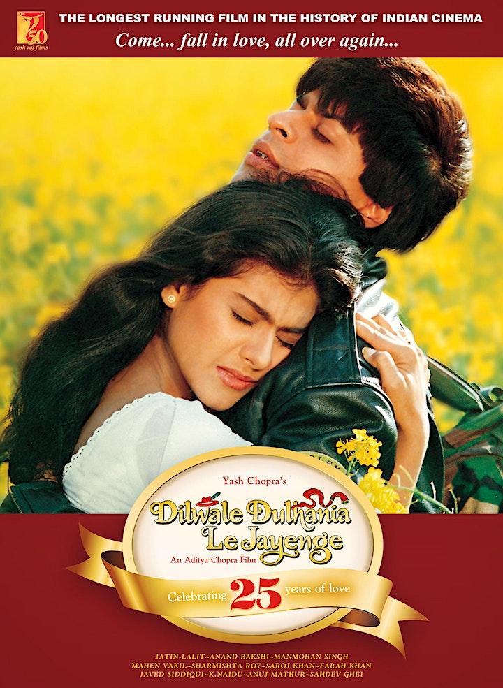 Bollywood film screening: Dilwale Dulhania Le Jayenge image