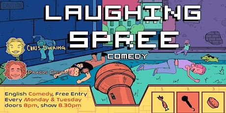 Laughing Spree: English Comedy on a BOAT (FREE SHOTS) 02.08. Tickets