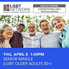 Mingle For Adults Over 50! tickets