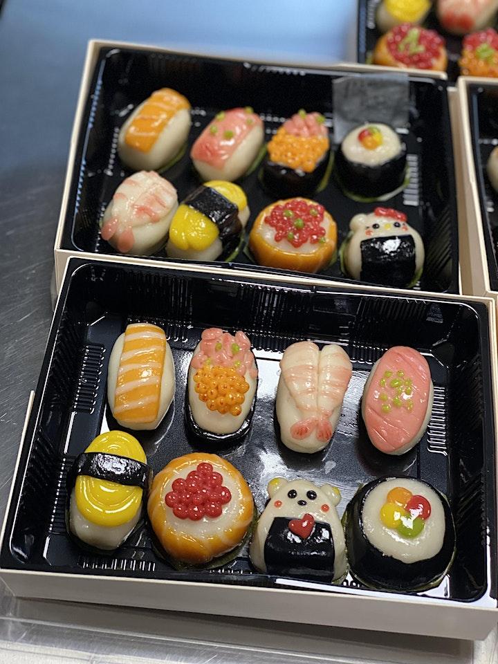 Ang Ku Kueh in Sushi Design image