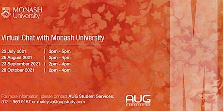 Monash University VIS 2021 tickets