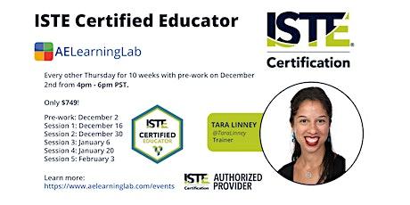 ISTE Certified Educator California-Get Certified Completely Online Dec 2021 tickets