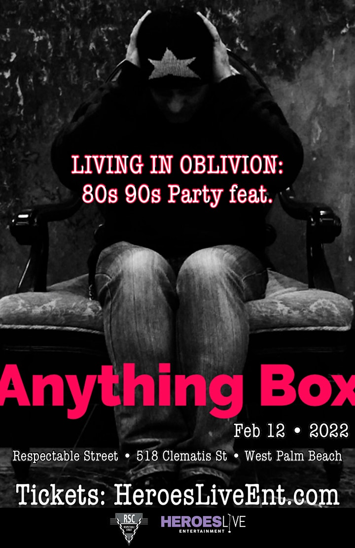 Living In Oblivion: 80s 90s Party feat. Anything Box image