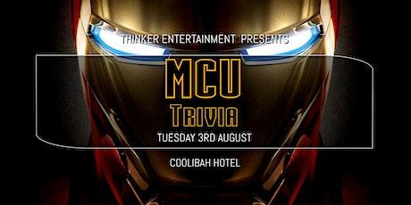 MCU Trivia (Rescheduled) - Coolibah Hotel tickets