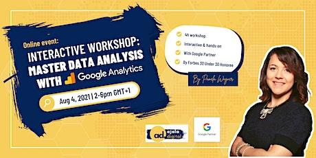Interactive Training: Read & Interpret Data with Google Analytics biglietti