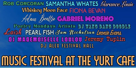 Music Festival at the Yurt Café tickets