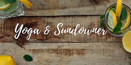 SALON F ONLINE // YOGA SPECIAL mit Katharina: Yoga & Sundowner Tickets