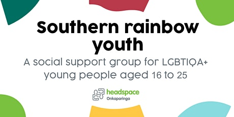 Southern Rainbow Youth Group  - Term 3 tickets