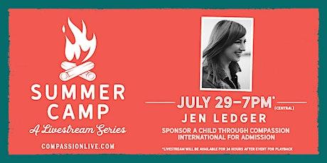Summer Camp - A Livestream Series | Jen Ledger tickets