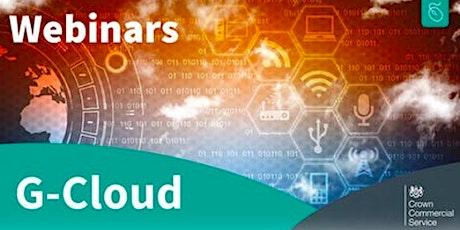 G-Cloud for Health webinar billets