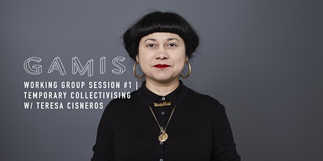 Teresa Cisneros - Working Group Session - Temporary Collectivising tickets