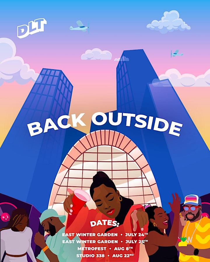 DLT: Back Outside (East Winter Garden) - July 24th image