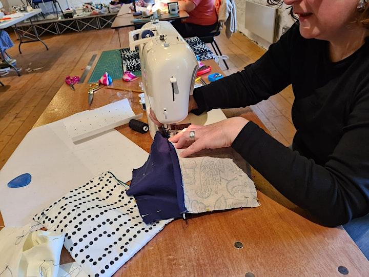 Beginners sewing image