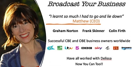 Broadcast your Business tickets