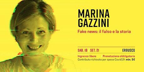 Marina Gazzini biglietti