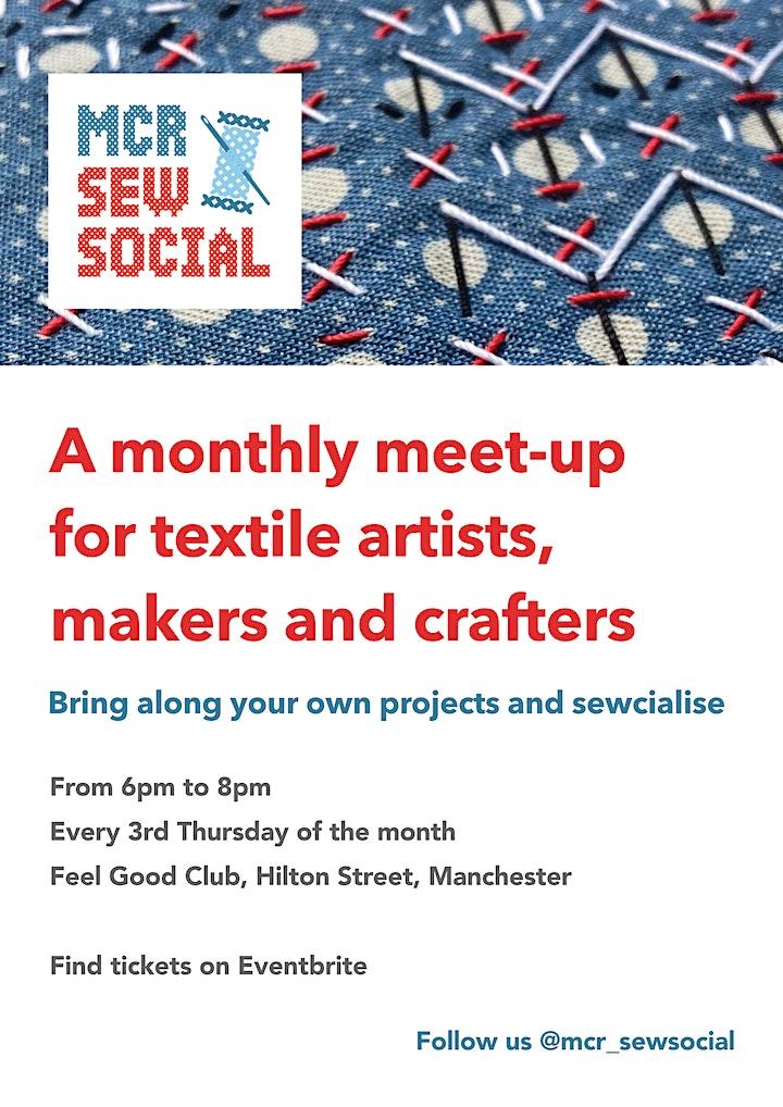 MCR Sew Social - August Meet Up image