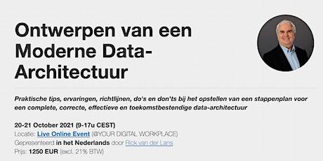 Ontwerpen van een Moderne Data-Architectuur tickets