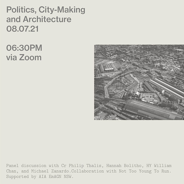 Politics, City-Making and Architecture image