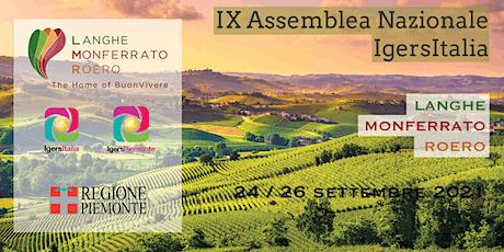 Assemblea Igersitalia 2021 - Piemonte biglietti