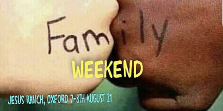 TLR UK Family and vision weekend tickets