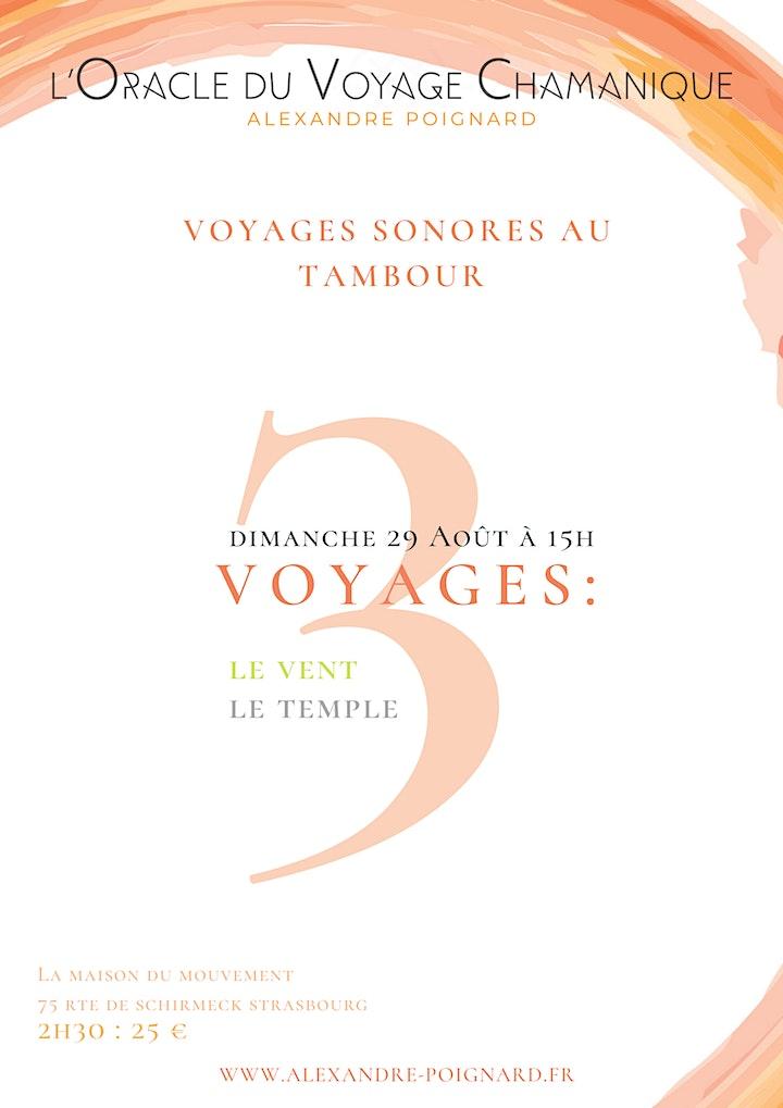 Image pour Voyages sonores au tambour - Le Vent, et Le Temple