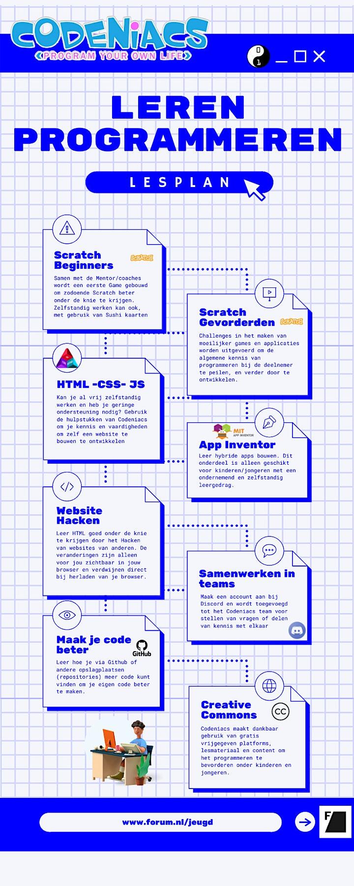 Afbeelding van Games en Apps bedenken en Programmeren in Forumbibliotheek Lewenborg