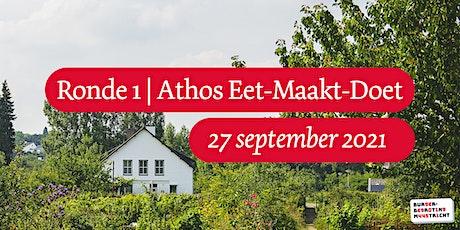 Burgerbegroting | Ronde 1 | Athos Eet-Maakt-Doet tickets