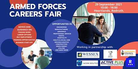 Armed Forces Careers Fair Cornwall tickets