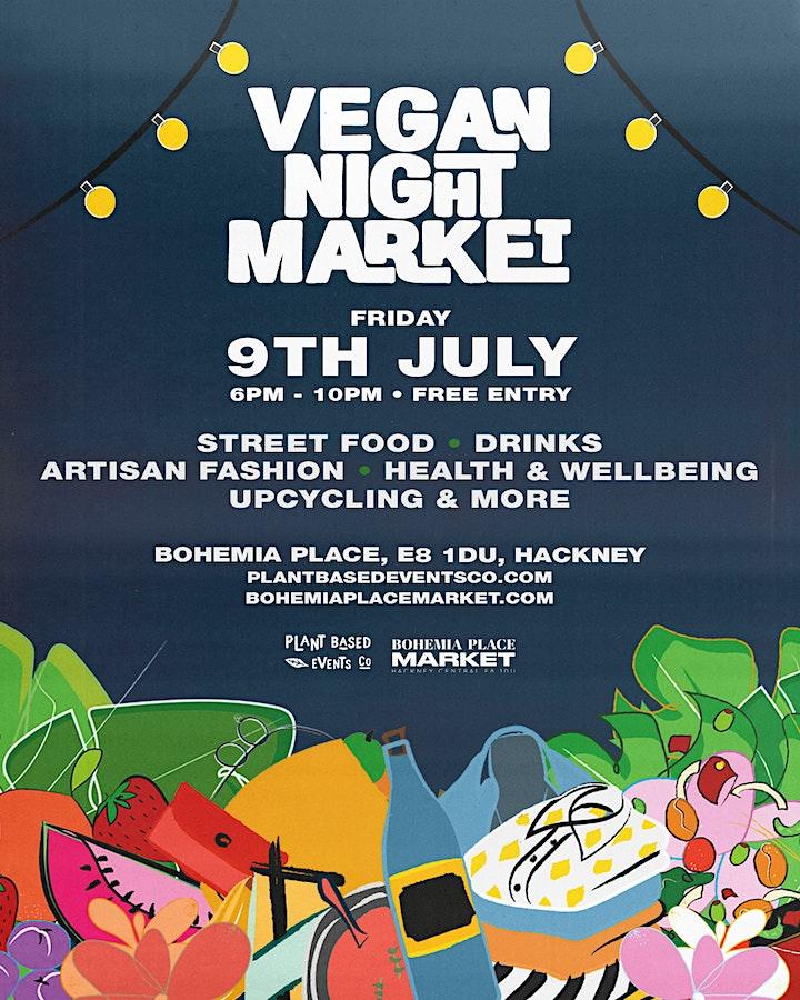 Hackney Vegan Night Market image