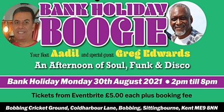 The Bank Holiday Boogie tickets