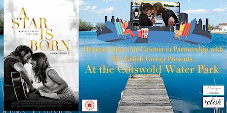 A Star Is Born Open Air Cinema at Cotswold Water Park tickets