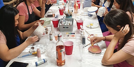Pottery Painting - Tuesday Late Night BYOB Session tickets