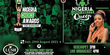 Nigeria Choice Awards & Nigeria Most Pretty Queen billets