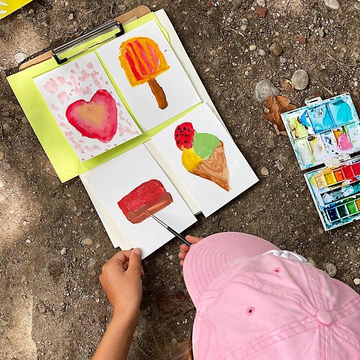 Di, 24.8. | 10-16 Uhr I Künstlerische Schnitzeljagd |  6- bis 10-Jährige: Bild