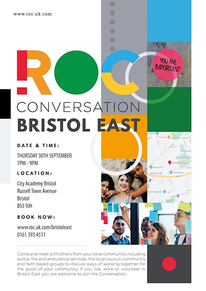 ROC CONVERSATION: Bristol East image