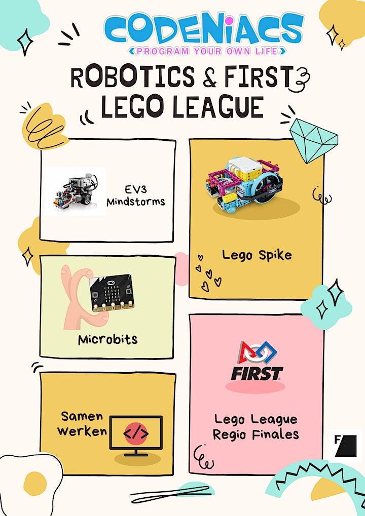 Afbeelding van Robotics en First Lego League