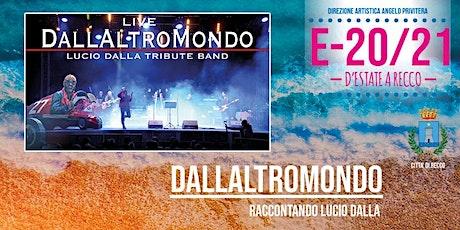 RECCO E-20/21 - DALLALTROMONDO biglietti