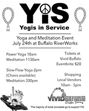 Yogis In Service Yoga Event at Buffalo RiverWorks tickets