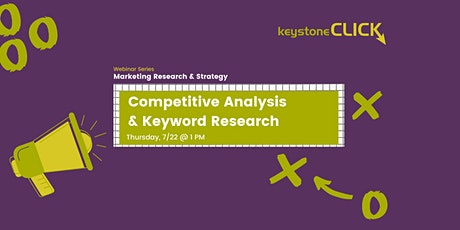 Competitive Analysis & Keyword Research tickets