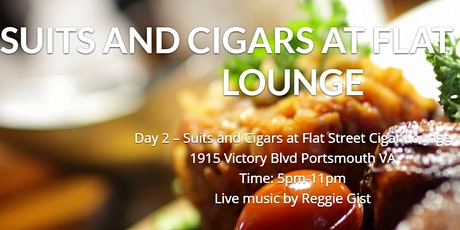 Suits and Cigars at Flat Street Cigar Lounge tickets