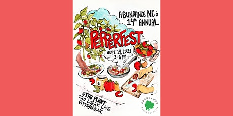 The 14th Annual PepperFest! tickets