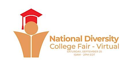 2021 National Diversity College Fair - Virtual tickets