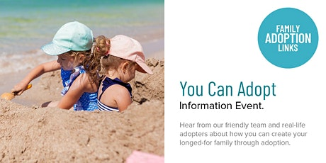 'You Can Adopt' Information Event tickets