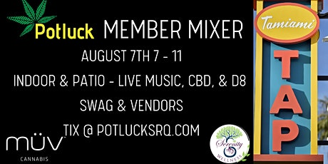 Potluck Member Mixer tickets