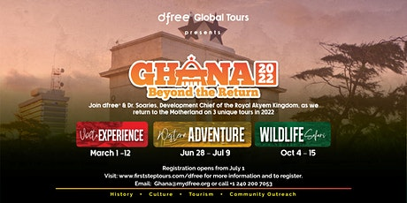 dfree® Ghana2022 - OCTOBER TOUR tickets